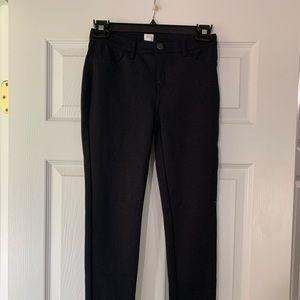 NWT girls black GAP Kids pants size 10